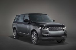 Range Rover Autobiography, front