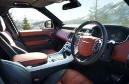 Range Rover Sport, interior
