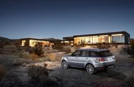 Range Rover Sport, rear