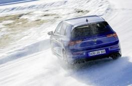 Volkswagen Golf R, 2021, rear, action