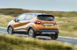 Renault Captur, 2017, rear, action