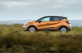Renault Captur, 2017, side
