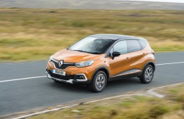 Renault Captur, 2017, side, action