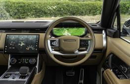 Range Rover, 2020, dashboard