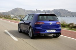Volkswagen Gof R with Performance Pack, 2017, rear