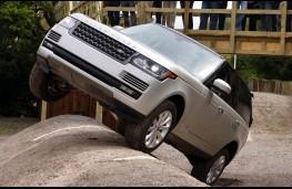 Range Rover 2012, test track