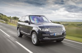 Range Rover, 2015, front, action