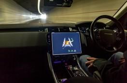 Range Rover Sport, autonomous, interior