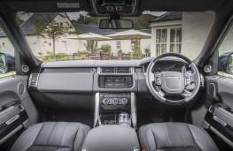 Range Rover, 2015, interior