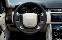 Range Rover, 2017, interior