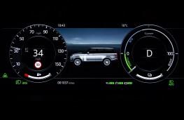 Range Rover PHEV LWB, 2018, instrument panel