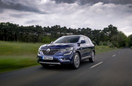 Renault Koleos, front, action