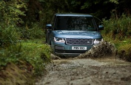 Range Rover, 2017, front, off road