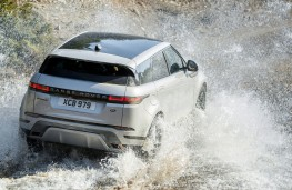 Range Rover Evoque R Dynamic, 2019, rear, off road