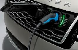 Range Rover PHEV, 2017, charging