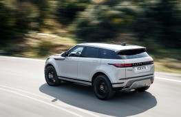 Range Rover Evoque R Dynamic, 2019, rear, action