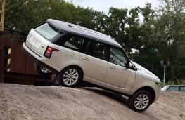 Range Rover, 2017, rear