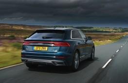 Audi Q8, rear