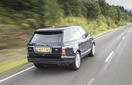 Range Rover, 2015, rear, action