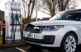 Range Rover PHEV LWB, 2018, charging