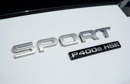 Range Rover Sport P400e, 2018, badge