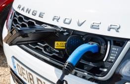 Range Rover Sport P400e, 2018, charging