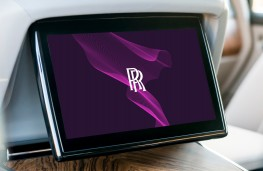 Rolls-Royce, 2020, logo on screen