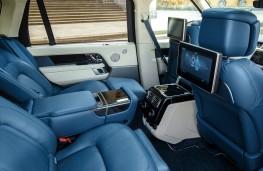 Range Rover PHEV LWB, 2018, rear seats