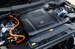Range Rover Sport P400e, 2018, engine