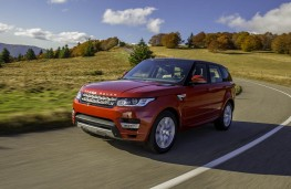 Range Rover Sport, front, action