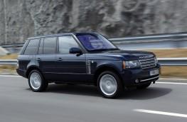 Range Rover 2012, test track, side