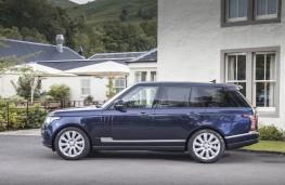 Range Rover, Virgin Galactic, tow, side