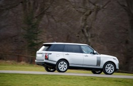 Range Rover SVAutobiography Dynamic, 2017, side