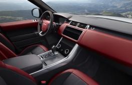 Range Rover Sport, 2020, interior