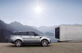 Range Rover Sport, 2017, side