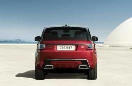 Range Rover Sport, 2020, rear
