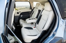 Range Rover Sport P400e, 2018, rear seats