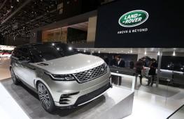 Range Rover Velar, front, Geneva Motor Show 2017
