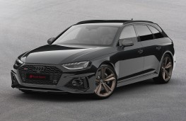 Audi RS 4 Avant Bronze Edition, 2020, front
