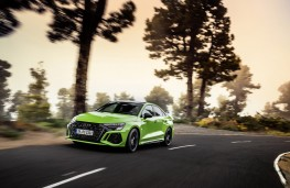 Audi RS 3 Saloon, 2021, front