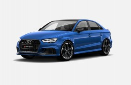 Audi RS 3 saloon, 2019, front