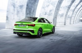 Audi RS 3 Saloon, 2021, rear