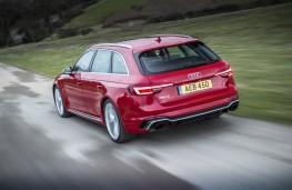 Audi RS4, 2018, rear