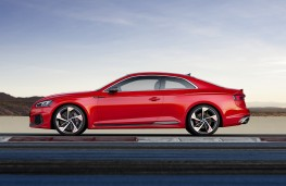 Audi RS 5 Coupe, 2017, side