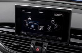 Audi RS 7 Sportback, 2017, display screen