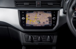 Kia Stinger, 2017, display screen