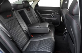 Jaguar XJR575, 2017, rear seats