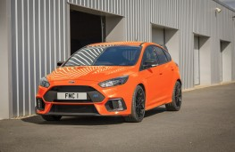 Ford Focus RS Heritage Edition, 2018, front