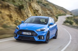 Ford Focus RS, front, action