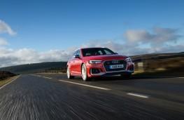Audi RS 4 Avant, 2018, front, action